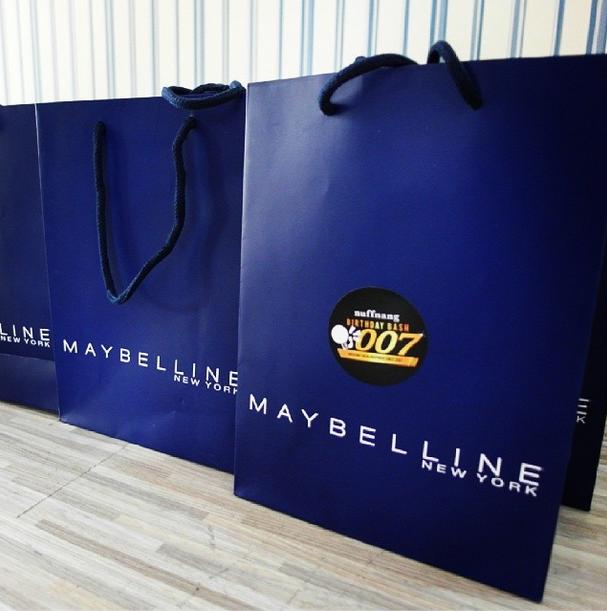 maybelline goodie bag