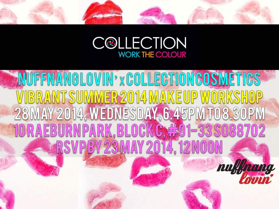 Nuffnang lovin' x Collection Cosmetics - e-invite