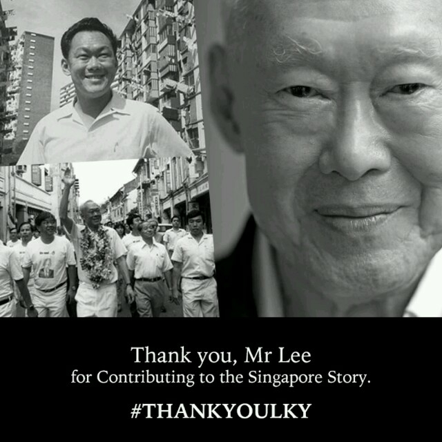 Passing of LKY